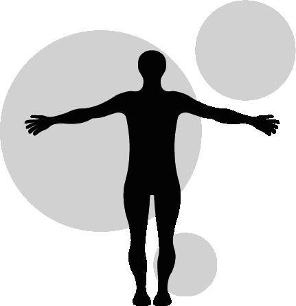 Logo for massør Pia Mulvad i Hviding